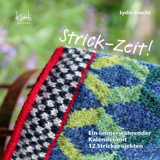 Buchcover Strick-Zeit